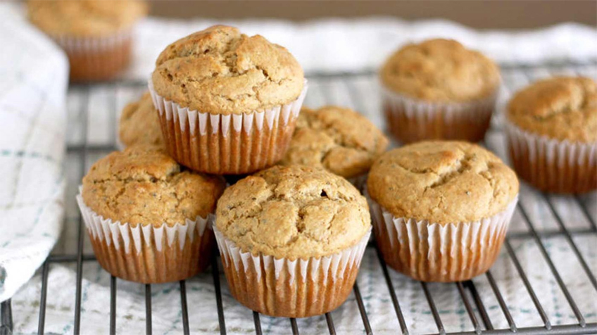 Mogyoróvajas muffin cukorbetegeknek